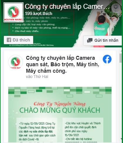 Fanpage sửa máy tính máy in Nguyễn Năng